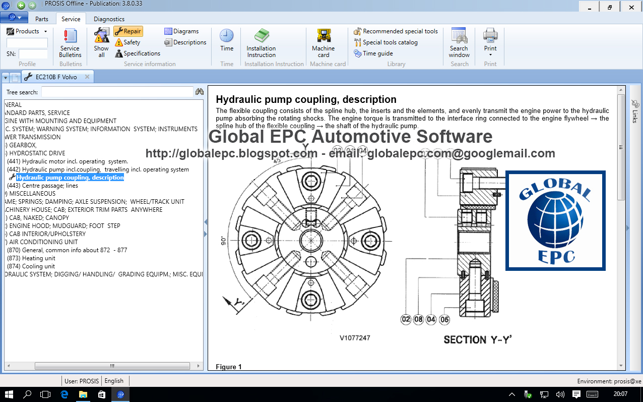 Global Epc Automotive Software Volvo Prosis Offline 2015 Repair L50d Loader Wiring Diagram 012015 Want To Buy It 50 Email Us Globalepcyandexcom