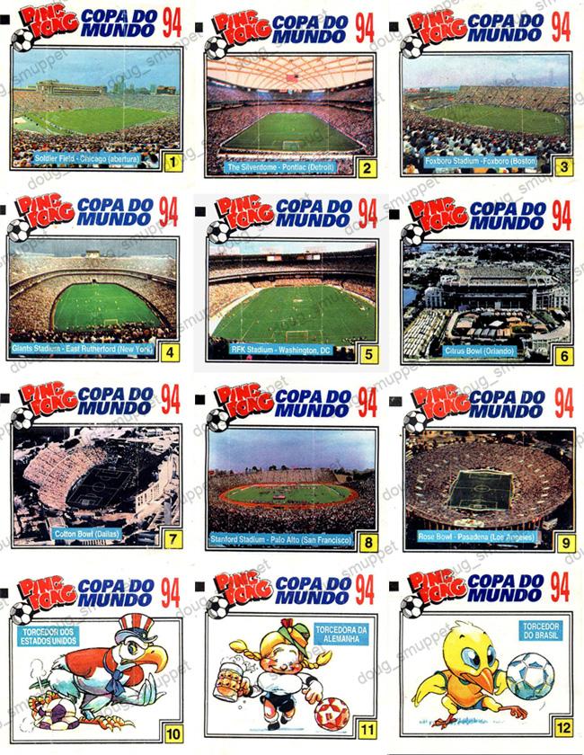 Coleções Ping Pong Ploc  Ping Pong Copa do Mundo 94 9c37a28eede4f