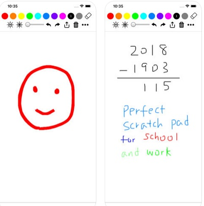 aplikasi ios membantu menggambar