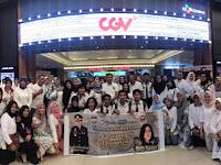 Keluarga Besar Polres Gowa Nobar Film 'Hanya Manusia'