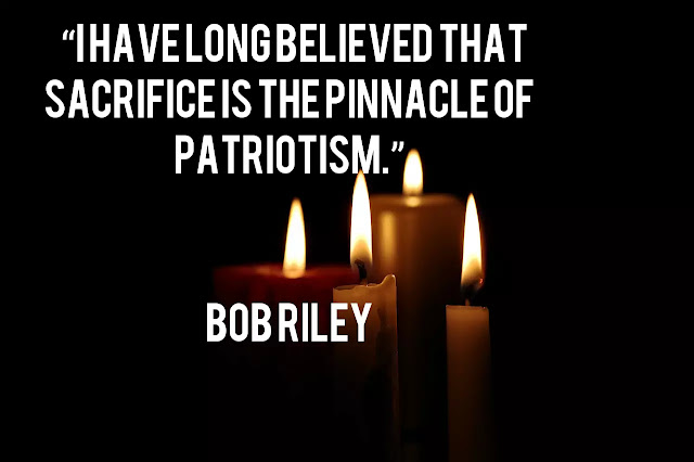 Image of Patriotic Memorial Day/ Martyrs' Day/ Remembering Day Quotes