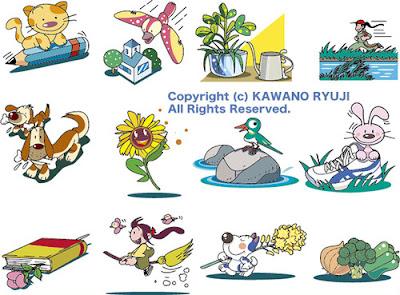 カットイラスト、捨てカット、キャラクター制作、イラストレーター、イラストレーター検索、可愛い