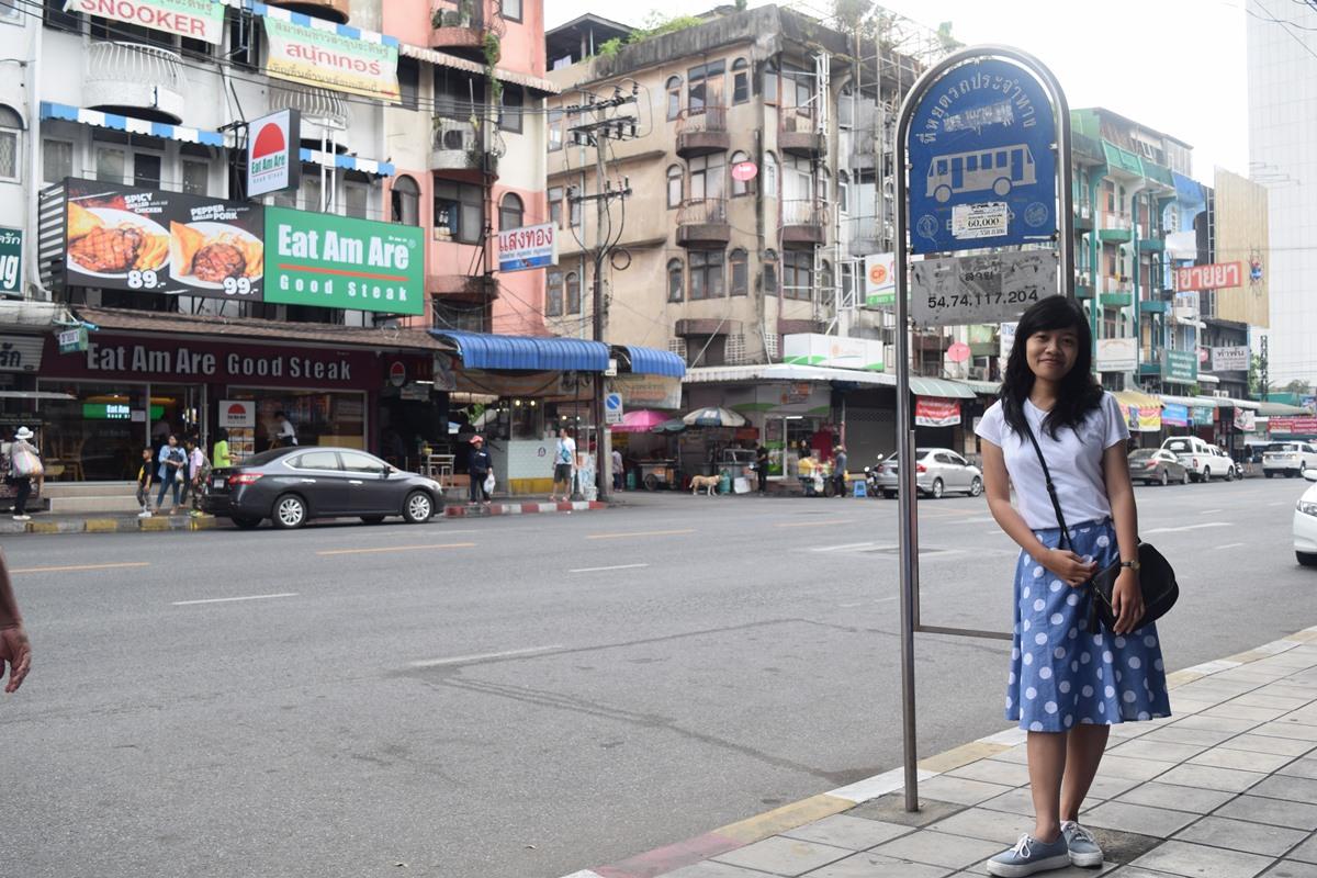 Traveling to Bangkok