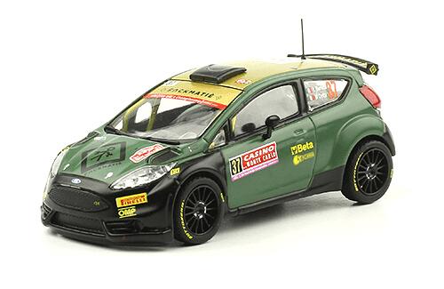 collezione rally monte carlo Ford Fiesta R5 2014 L. Bertelli - M. Dotta