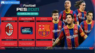 Dream League Soccer MOD PES 2021 Spesial Barcelona New Update Kits & Transfer
