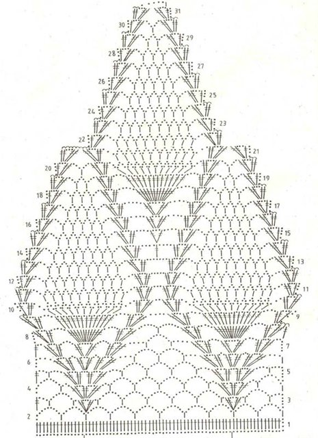 Patterns and motifs: Crocheted motif no. 776