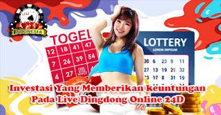 Investasi Yang Memberikan keuntungan Pada Live Dingdong Online 24D