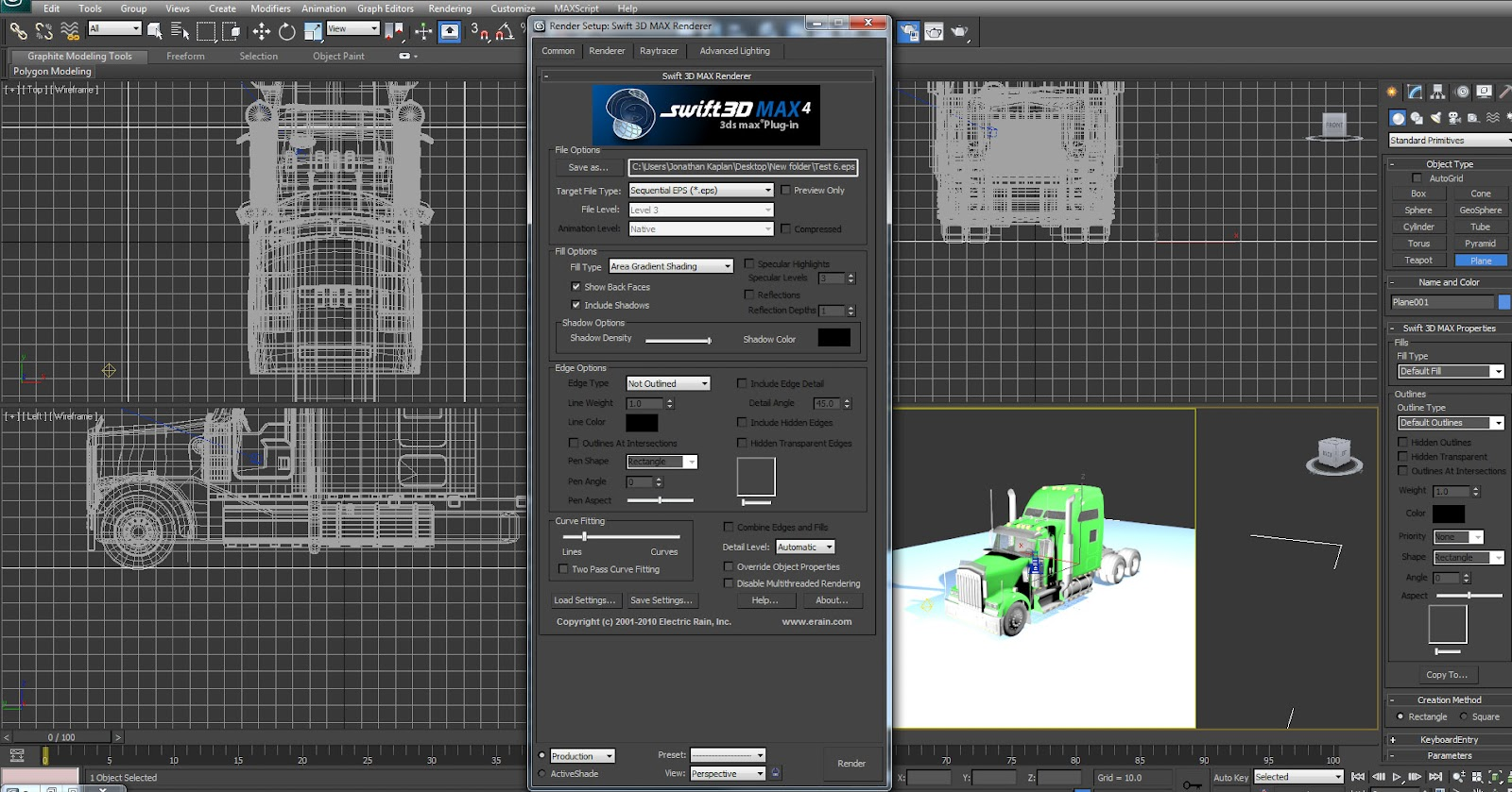 Jonathan Kaplan: 3ds Max Plugin Review: Swift 3D MAX 4