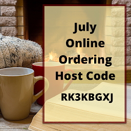 July Online Ordering Host Code