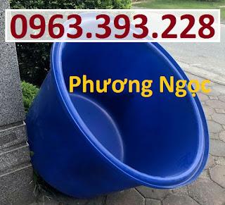 Thùng tròn nuôi thủy hải sản, thùng nhựa trồng cây, thùng đựng nước Fd1596eed61631486807