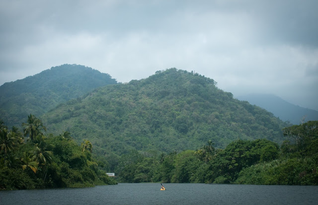 Kayaking; Tayrona, Colombia