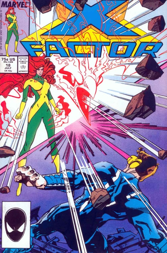 X-Factor Vol 1 #18, portada obra de Walter Simonson
