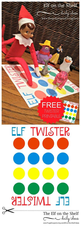 image regarding Printable Elf named 20+ Cost-free Elf upon the Shelf Printables - Poofy Cheeks