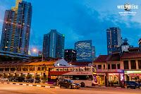 Singapur bei Nacht www.WELTREISE.tv