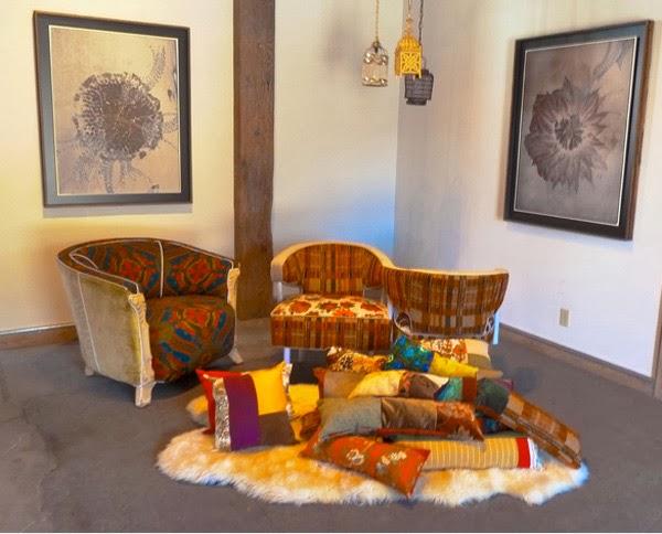 d coration salon style vintage d coration salon d cor de salon. Black Bedroom Furniture Sets. Home Design Ideas