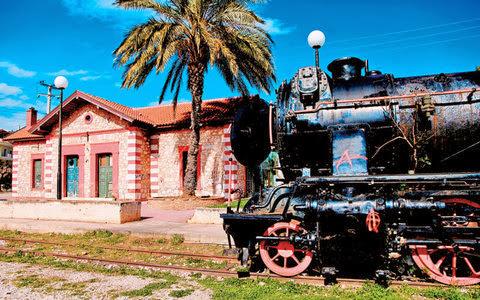 Ανακηρυγμένα έργα τέχνης παλαιοί σιδηροδρομικοί σταθμοί της Αργολίδας από το 1985
