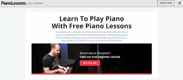 Situs Terbaik Untuk Belajar Piano Secara Online-1