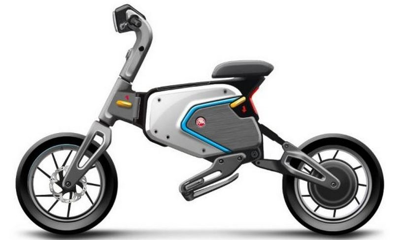 SYM ED-1: Lightweight electric foldable scooter - Electric