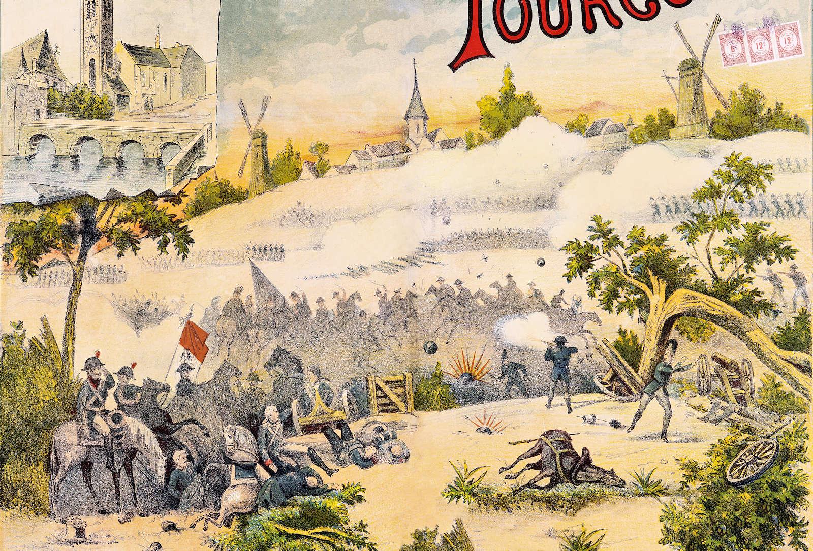 Affiche du Centenaire de la Bataille de Tourcoing (détail)