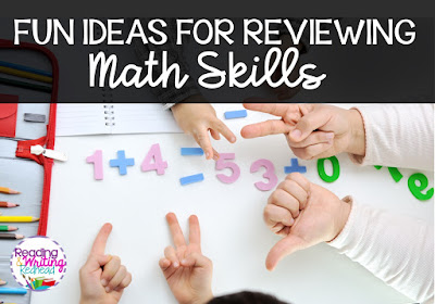 Fun Ideas to Practice Math Skills