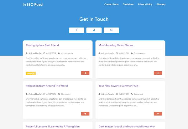 Free download In SEO Pro Premuim Blogger Template