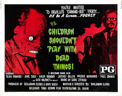 Retro Review: Children Shouldn't Play With Dead Things (1972)