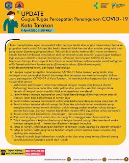 Press Release COVID-19 Tarakan 11 April 2020 - Tarakan Info