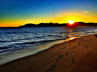 Tramonto a Cannes