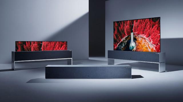 TV LG Yang Dapat Digulung Sudah Bisa Dipesan Dengan Rp 1,2 Miliyar
