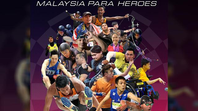 Jadual Penuh Atlet Malaysia Di Sukan Paralimpik Tokyo 2020