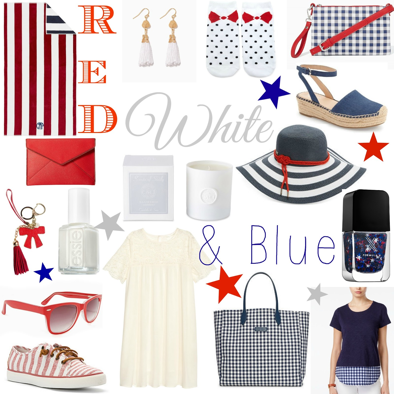 4th of July sales, fashion picks, 4th of July
