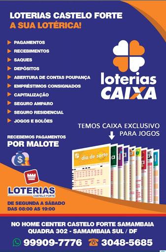 LOTERIAS CASTELO FORTE