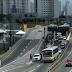 Colisão entre viatura da PM e Táxi causa lentidão na BR-101 e Salgado Filho