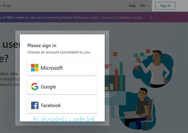 Cara Submit Blog Ke Bing 1 Sign In