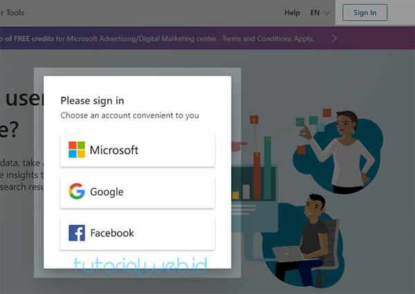 Cara Mendaftarkan Blog ke Bing - Tutorial.web.id