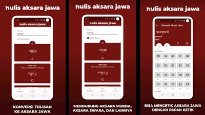 Aplikasi Nulis Aksara Jawa