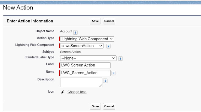 create quick action with lwc