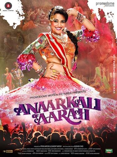 Anaarkali Of Aaraah (2017) Movie Poster