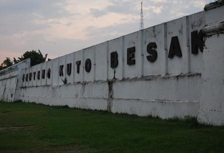 tempat wisata Benteng Kuto Besak kota palembang