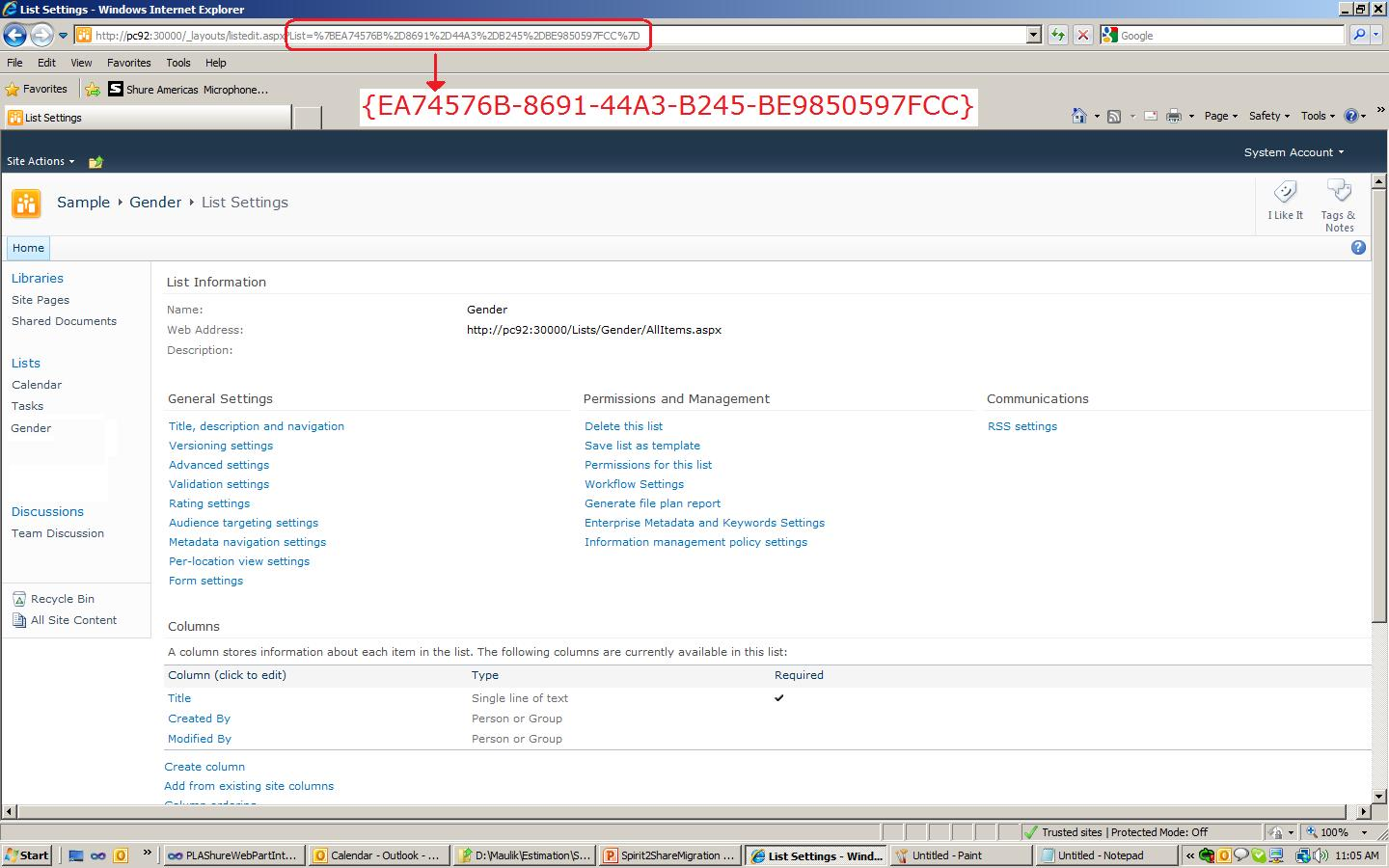Maulik Dhorajia: Sharepoint LookUp field issue when created using ...