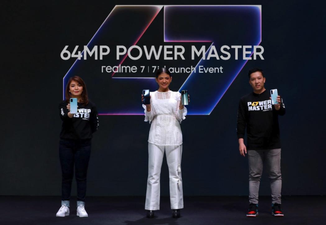 Realme 7 dan Realme 7i Resmi Diluncurkan di Indonesia