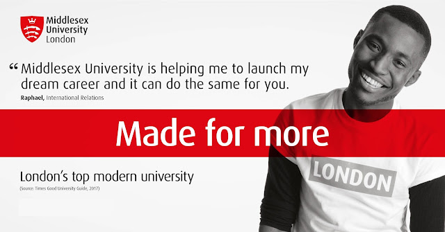 Apply for a Master's degree at Middlesex University(London, Malta, Dubai, Mauritius) From $5000.