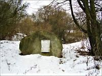 Kałużyce - na tym miejscu stał dwór, gdzie urodził się Melchior Wańkowicz Fot. radzima.org