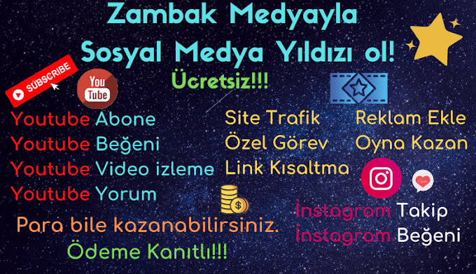 Muhteşem Sosyal Medya Paneli Zambak Medya (Ücretsiz)!