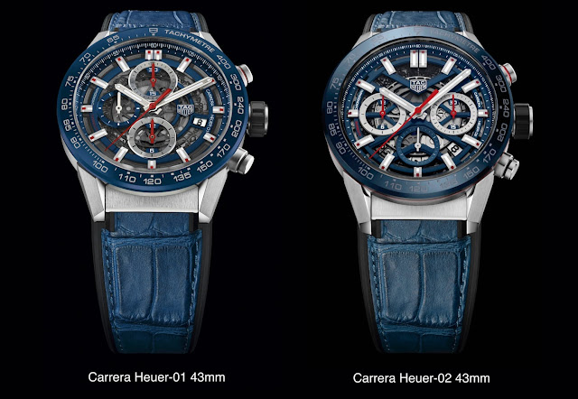 Review the TAG Heuer Carrera Chronograph 43mm Black Dial Watch Replica