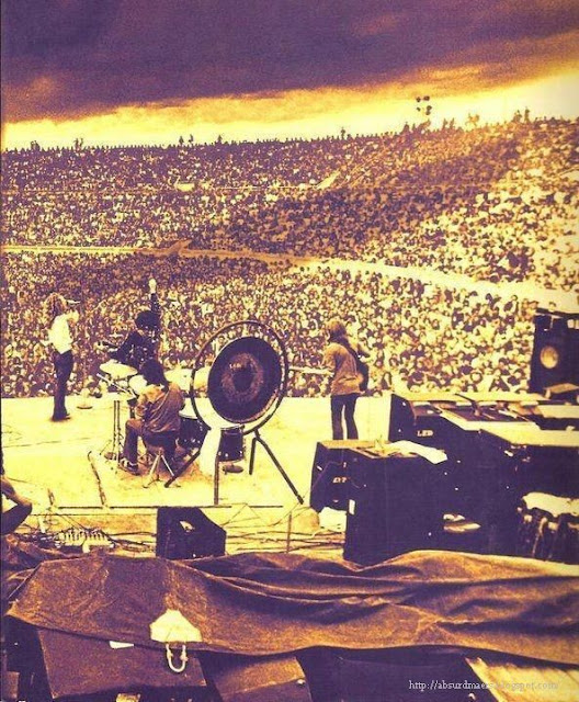 Led Zeppelin, Melbourne, 1972