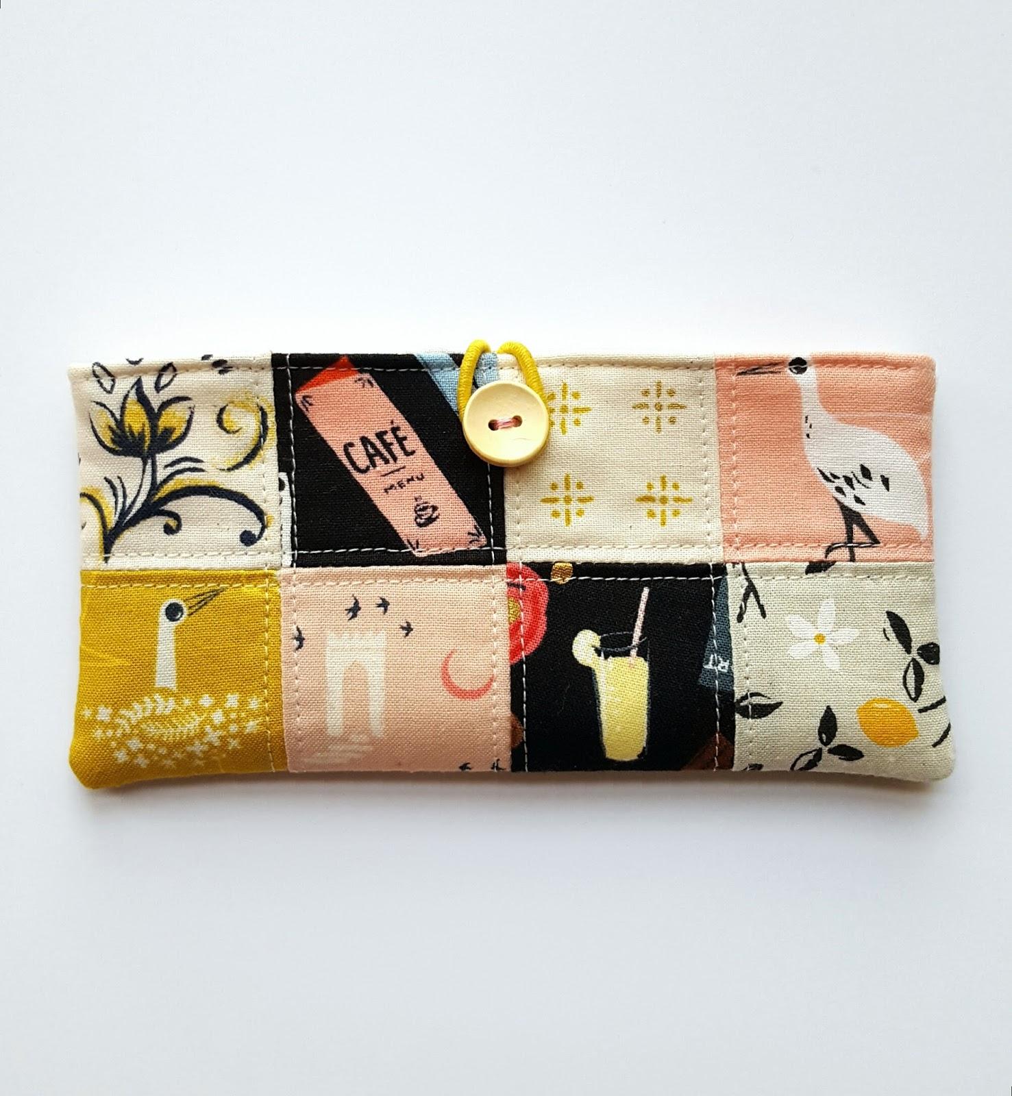 Fabric Mutt Patchwork Pocket