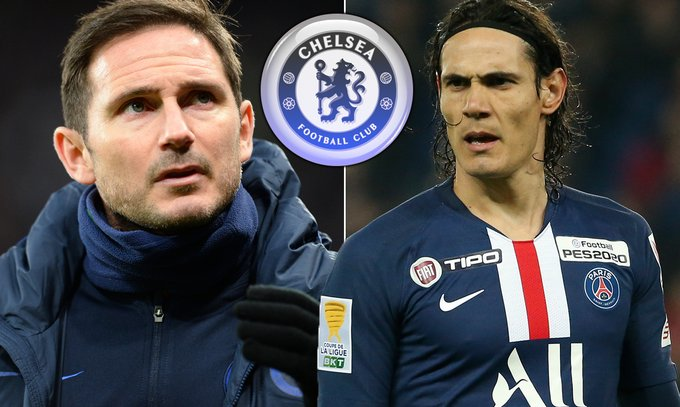 """Cavani To Chelsea? We'll See"" - Coach Frank Lampard Drops Transfer Hint"
