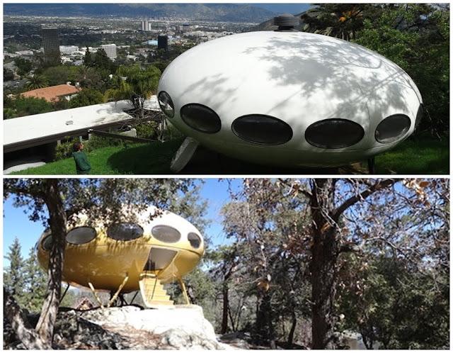 Casa Futuro a Los Angeles e ad Idyllwild