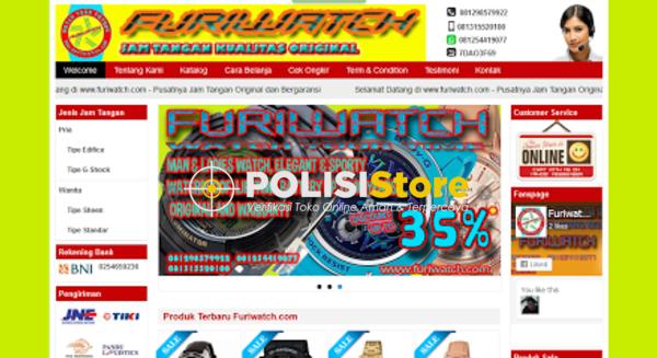 Furiwatch Jam Tangan - Verifikasi Toko Online Aman dan Terpercaya - Polisi Store
